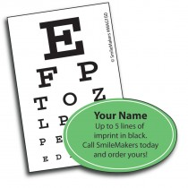 Shaped Eye Chart Magnets