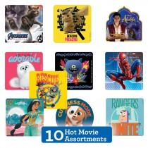 Hot Summer Movie Sticker Sampler