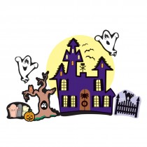 Make Your Own™ Haunted House Stickers