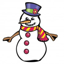 Make Your Own™ Snowman Stickers