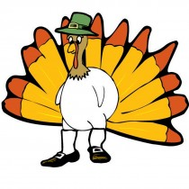 Make Your Own™ Turkey Stickers