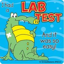Sea Animal Lab Test Stickers