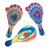 Psychedelic Paddle Balls