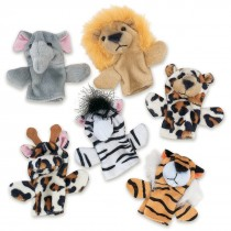 Plush Animal Finger Puppets