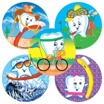 Tooth Olympics Stickers
