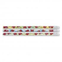 Foil Ladybug Pencils