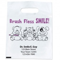 Custom Brush Floss Smile Bags