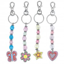 Beaded Charm Clip Backpack Pulls