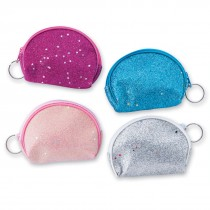 Glitter Coin Purse Backpack Pulls