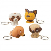 Adorable Pups Collectible Backpack Pulls