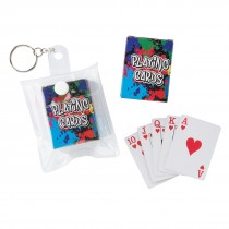 Mini Playing Card Backpack Pulls