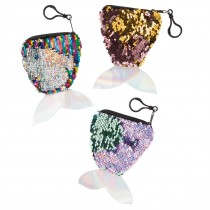 Mermaid Reversable Sequin Coin Purses