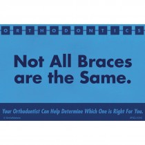 All Braces Not Same Recall Cards