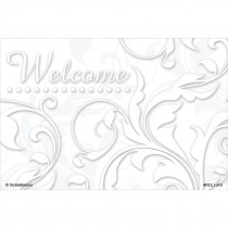 Welcome Floral Swirls Recall Cards