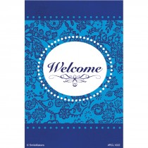 Blue Fancy Welcome Recall Cards