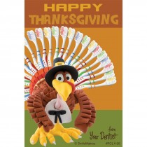Happy Thanksgiving Dental Turkey Recall Cards