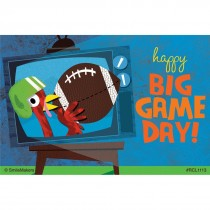 Big Game Day Recall Cards