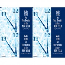 Make Time in New Year Laser Cards