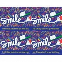 Smile Birthday Laser Cards