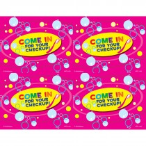 Come In Bubbles Laser Cards