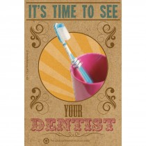 Time to See Your Dentist Recall Cards