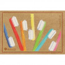 Toothbrushes Recycled Recall Cards