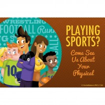 Playing Sports? Recall Cards