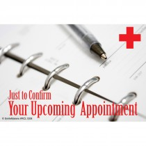 Confirm Upcoming Appointment Recall Cards
