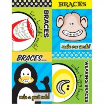 Assorted Braces Laser Cards
