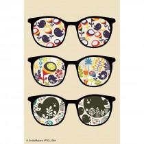 Design Lenses Glasses Recall Cards