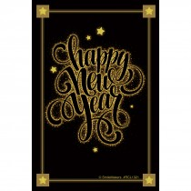 Happy New Year Stars Recall Cards