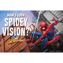 Spider-Man Eye Care Recall Card
