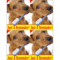 Dog Brush Laser Cards