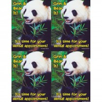 Grin & Bear It Panda Laser Cards