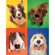 Dogs with Braces Laser Cards