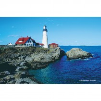 Lighthouse Scenic Laser Cards