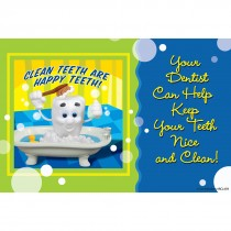 Clay Tooth Clean Recall Cards