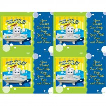 Clay Tooth Clean Laser Cards