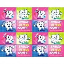 Cartoon Tooth Block Laser Cards