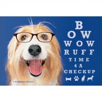Bow Wow Dogs Eye Chart Recall Cards