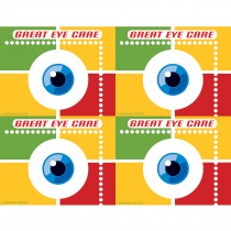 Eye & Squares Laser Cards