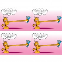 Garfield Tells Me Laser Cards