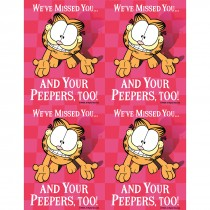Garfield Your Peepers Laser Cards