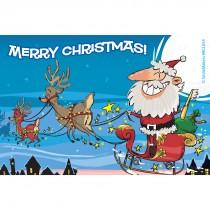 Santa Christmas Recall Cards