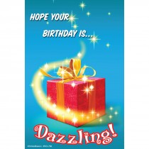 Dazzling Birthday Recall Cards