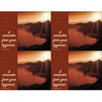 Hygienist Sunset View Laser Cards