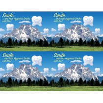 Hygienist Happy Tooth Laser Cards