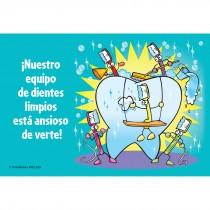Spanish Clean Teeth Team Recall Cards