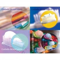 Spanish Dental Care Basics Laser Cards