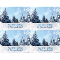 Merry & Bright Laser Cards